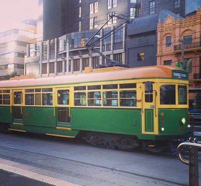 Melbourne Old Tram