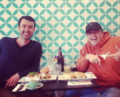 Yaro and Ed Eating Some Epic Food In Moonee Ponds