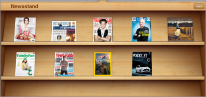 Newsstand For Apple IOS - Digital Magazines App