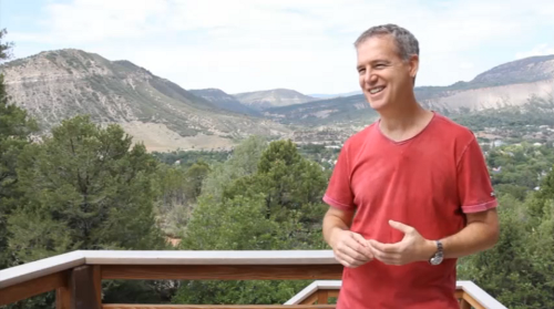 Jeff Walker On A Mountain