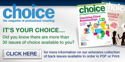 subscribe to choice the magazine of professional coaching