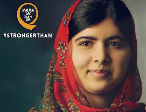 Malala Yousafzai #StrongerThan